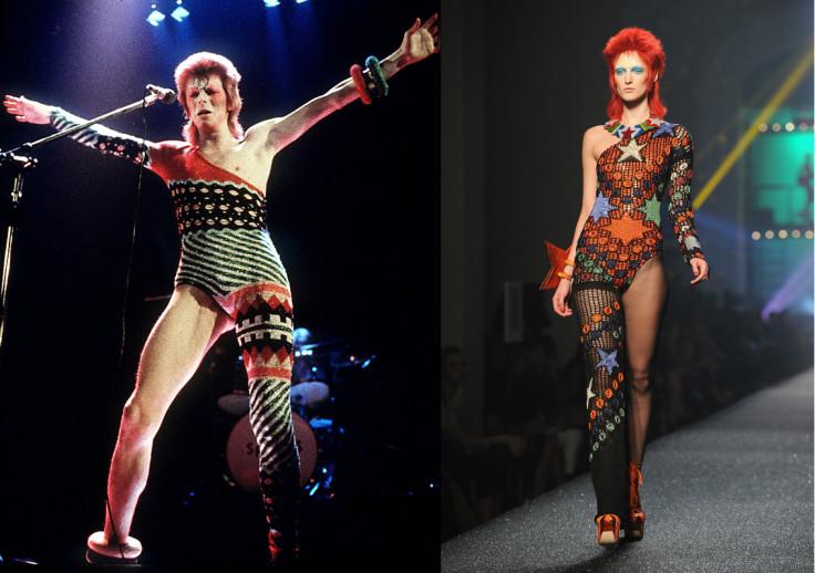 David bowie dead, fashion icon