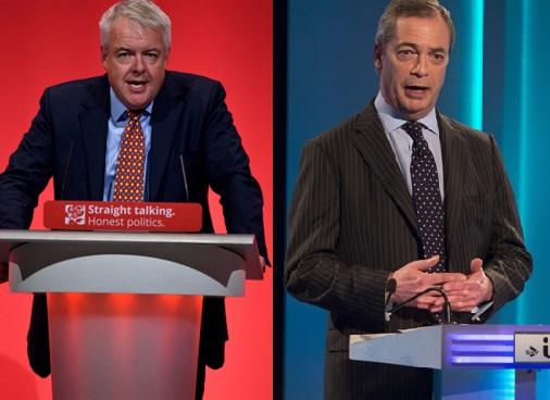Carwyn Jones and Nigel Farage