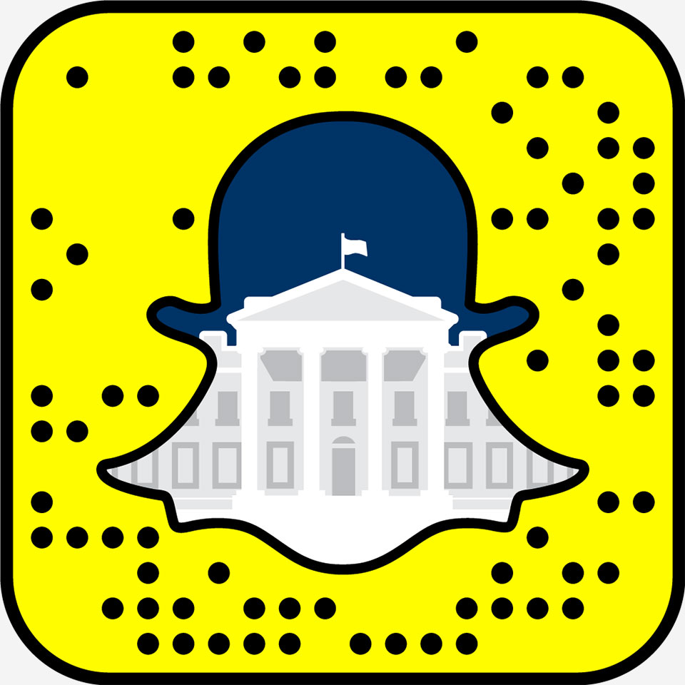 White House on Snapchat