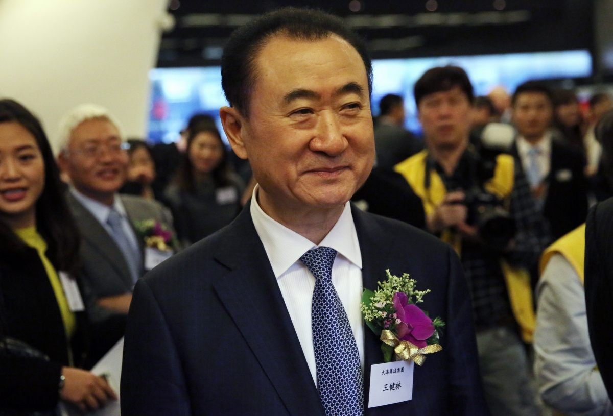 Wang Jianlin CEO of Wanda Group