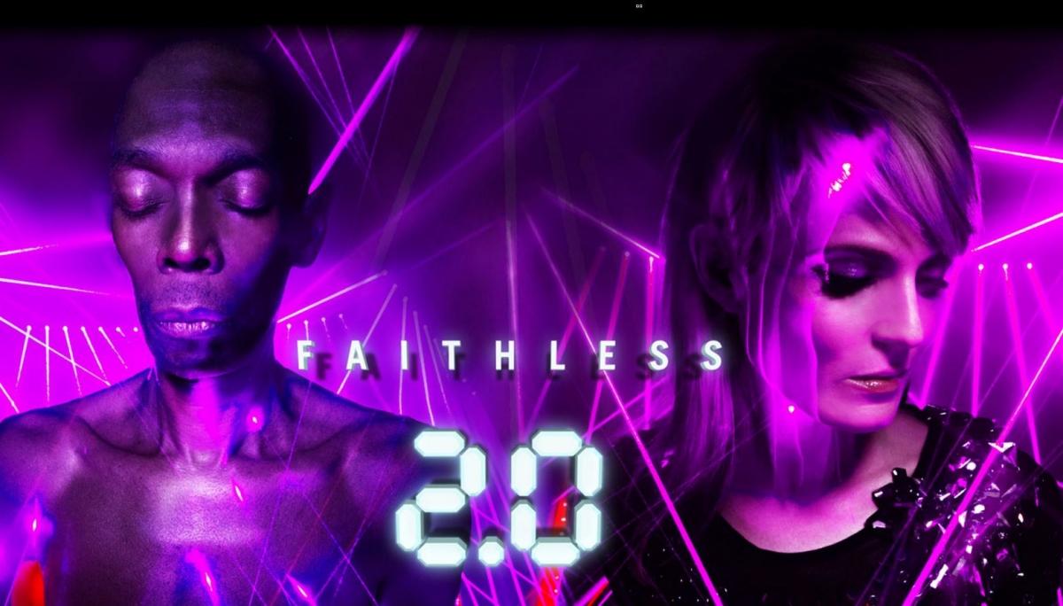 Faithless website hacked celebrity