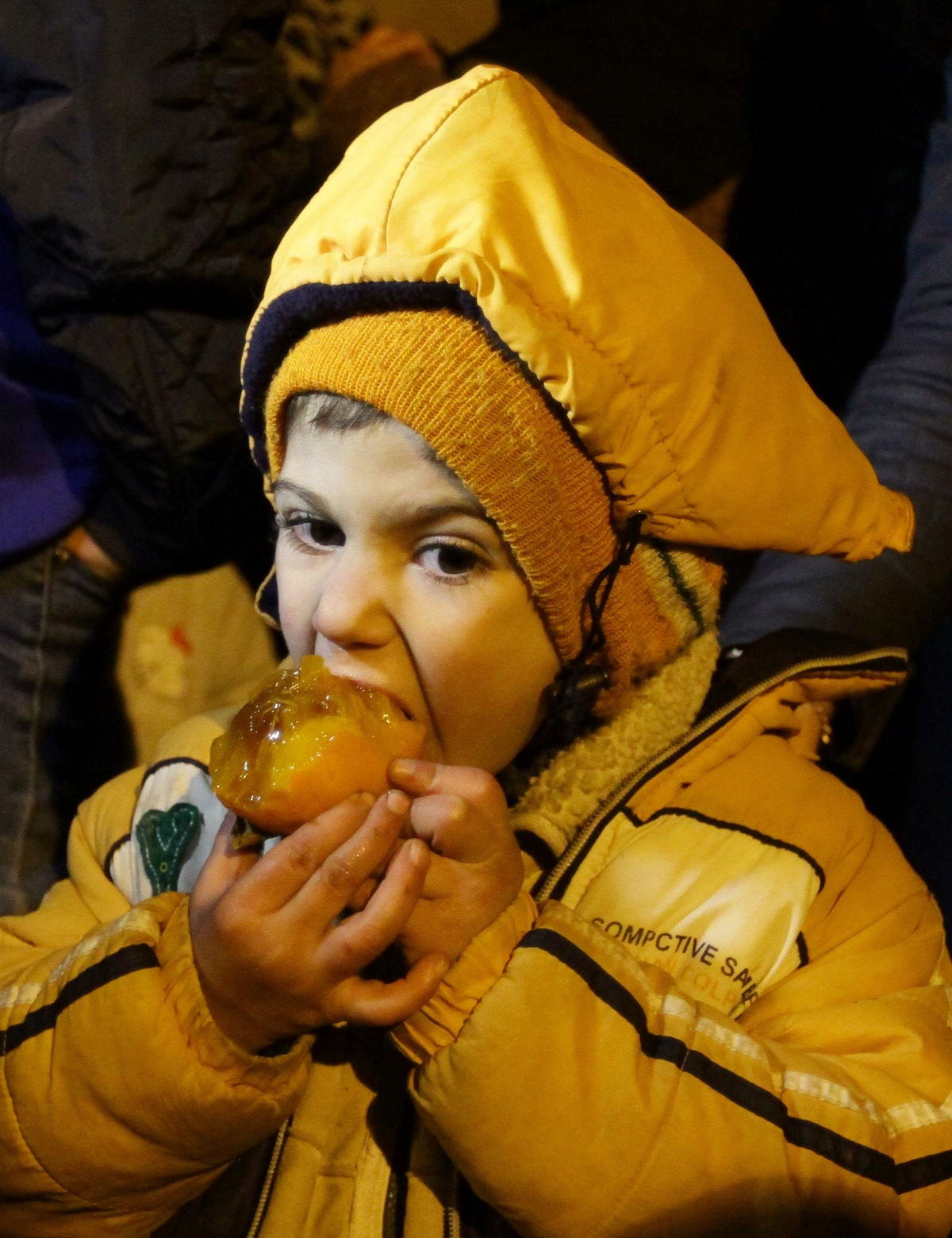 A child in Madaya