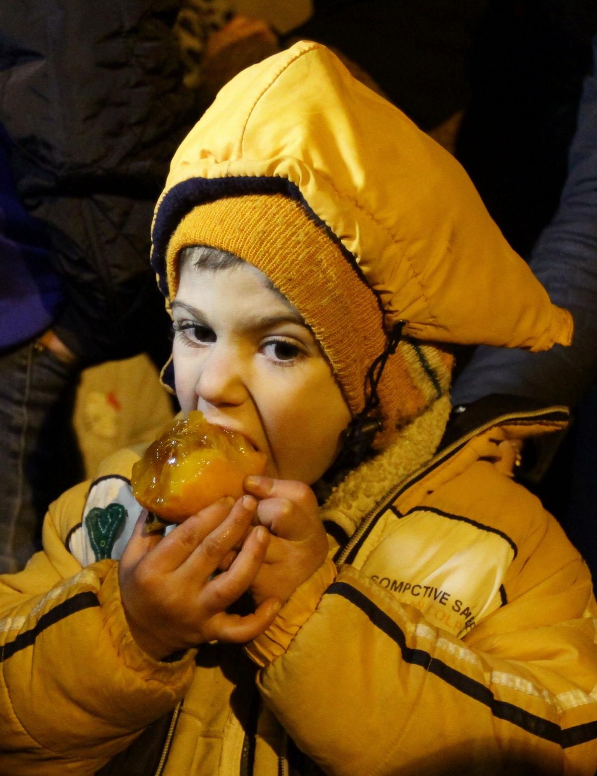 A child in Madaya