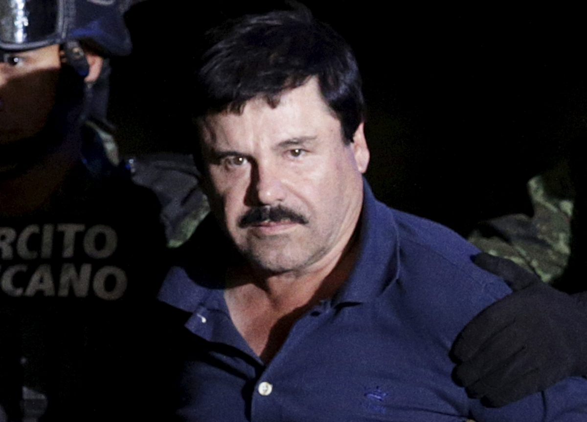 Mexico drug lord Guzman