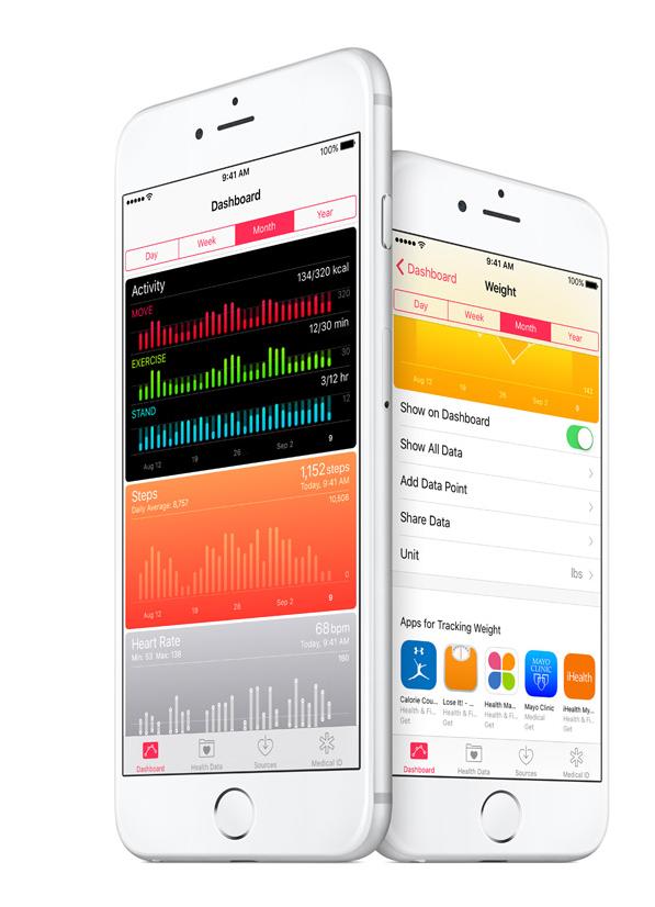iOS 9.3 beta: Health and Fitness app
