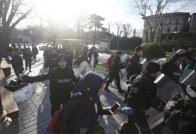 Istanbul Sultanahmet explosion