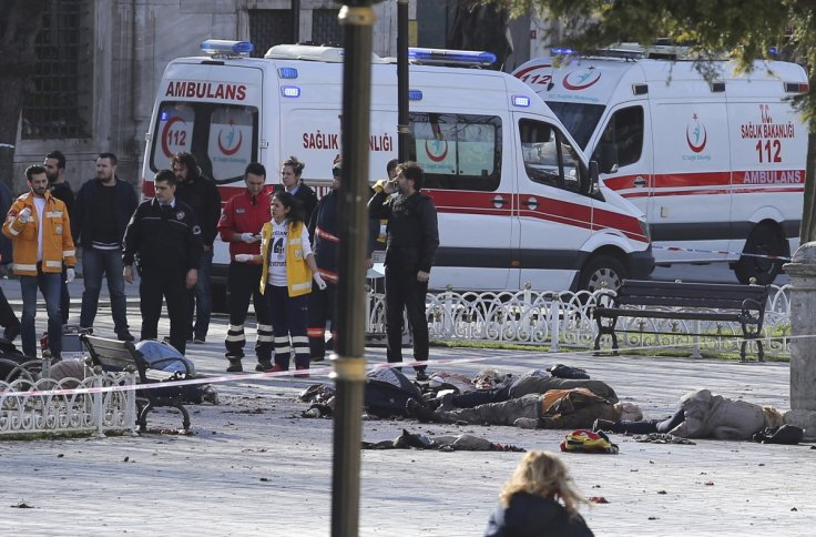 Turkey Istanbul Suicide Attack Explosion