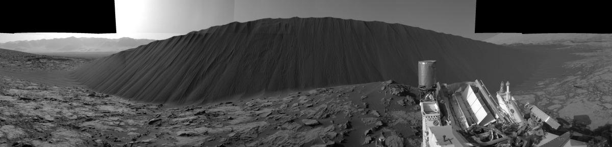 Namib Dune on Mars
