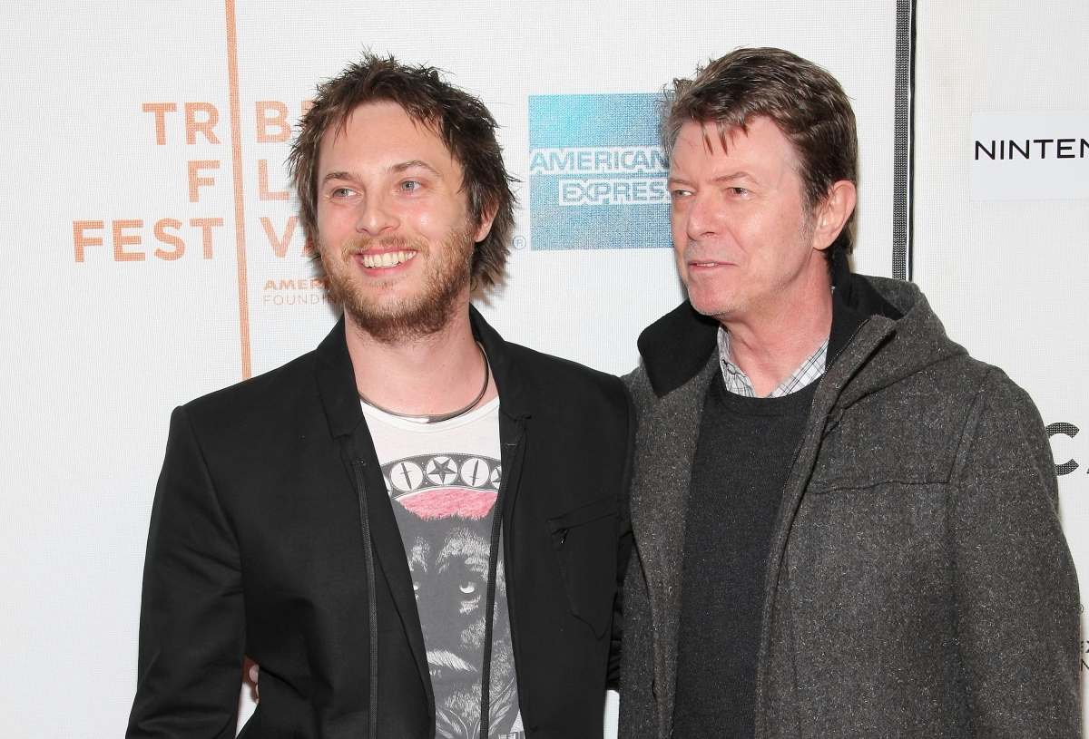 Duncan Jones and David Bowie