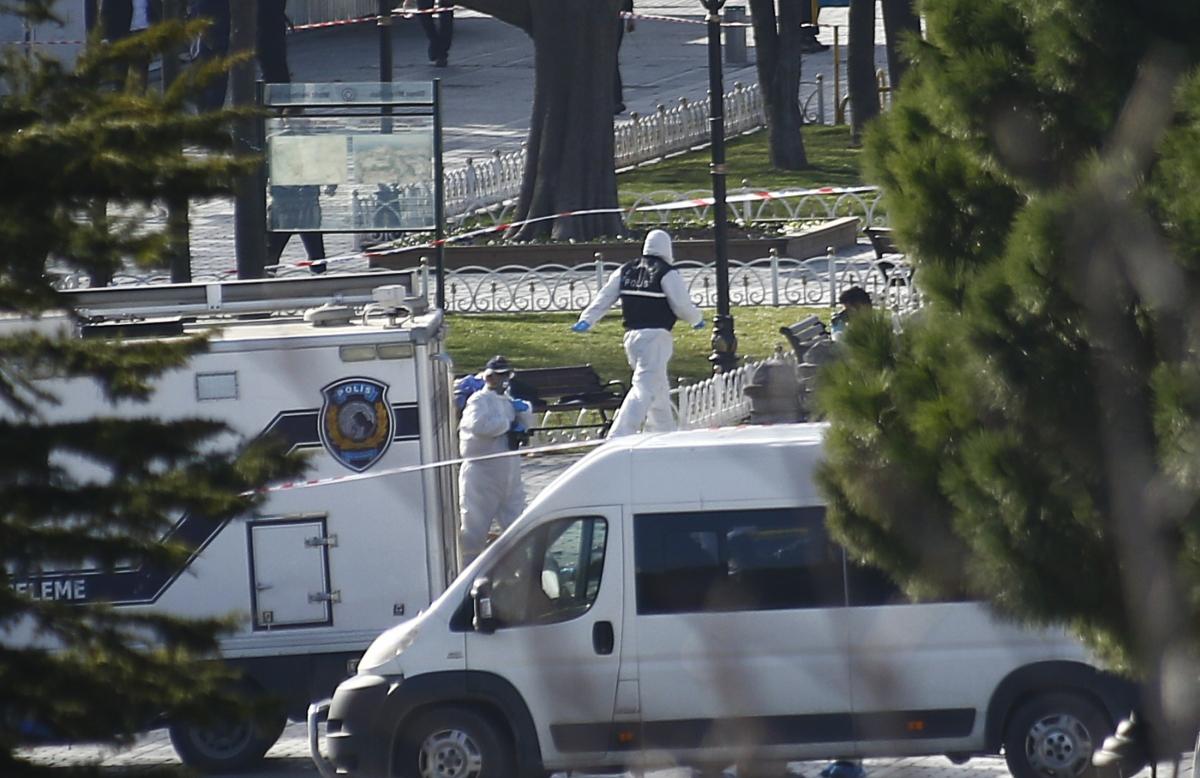 Sultanahmet Square Istanbul explosion