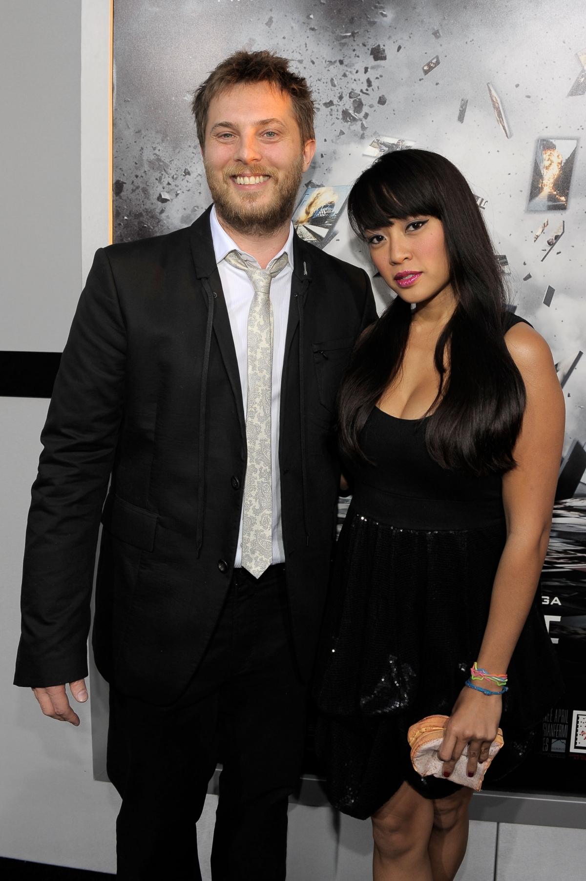 Duncan Jones and wife Rodene Ronquillo