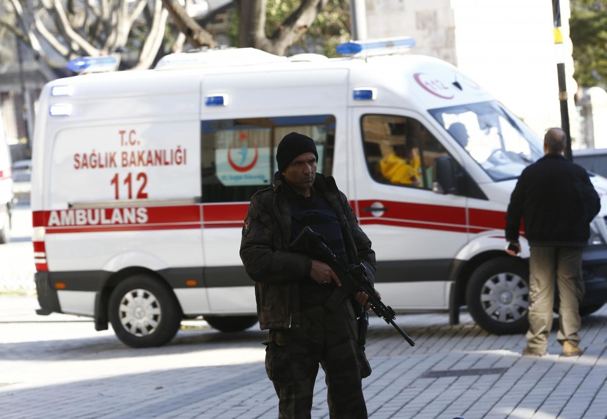 istanbul blast sultanahmet