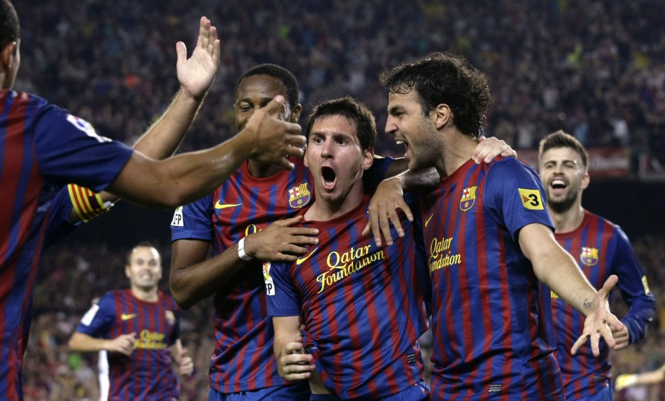 Barcelona Trumps Man U