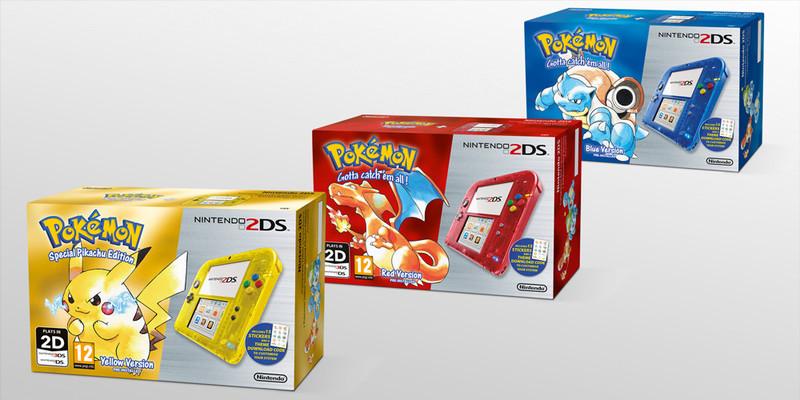 Pokémon Red Blue Yellow 2DS