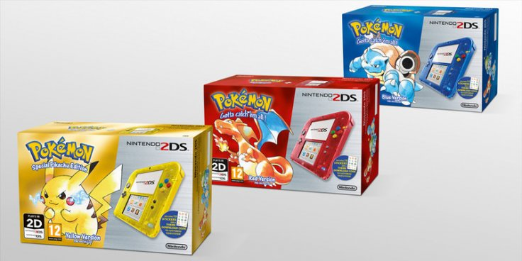 Pokémon Red Blue Yellow 2DS