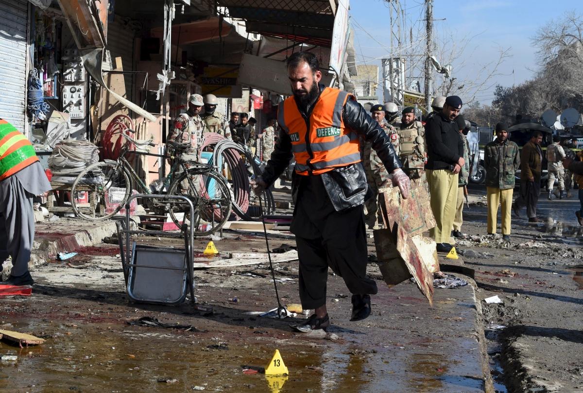 Pakistan Quetta polio centre bomb blast