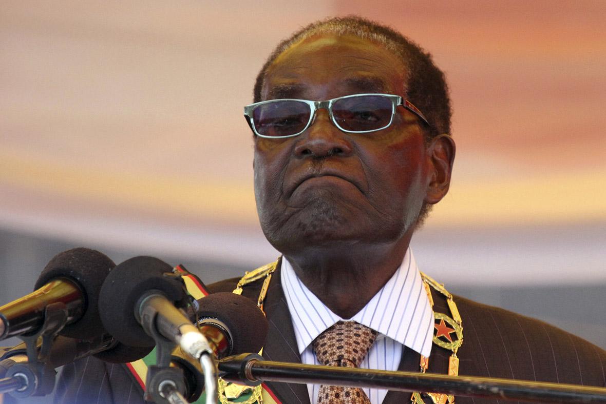 Robert Mugabe, President of Zimbabwe