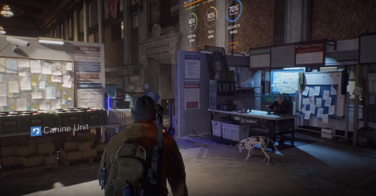 The Division dog ubisoft