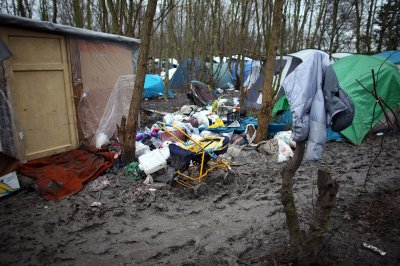 Dunkirk migrants camp
