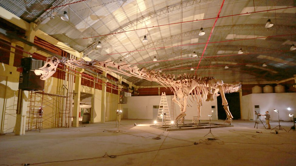 David Attenborough and the Giant Dinosaur