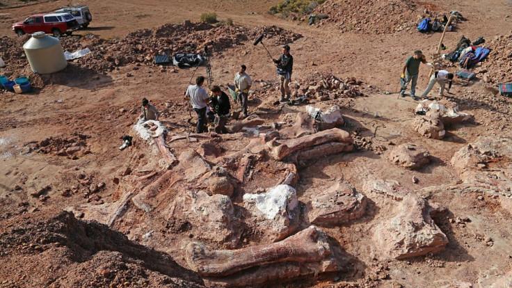 giant titanosaur