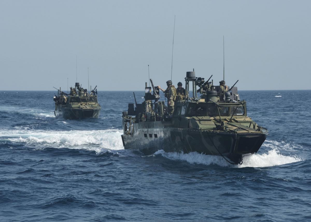 Riverine patrol boat