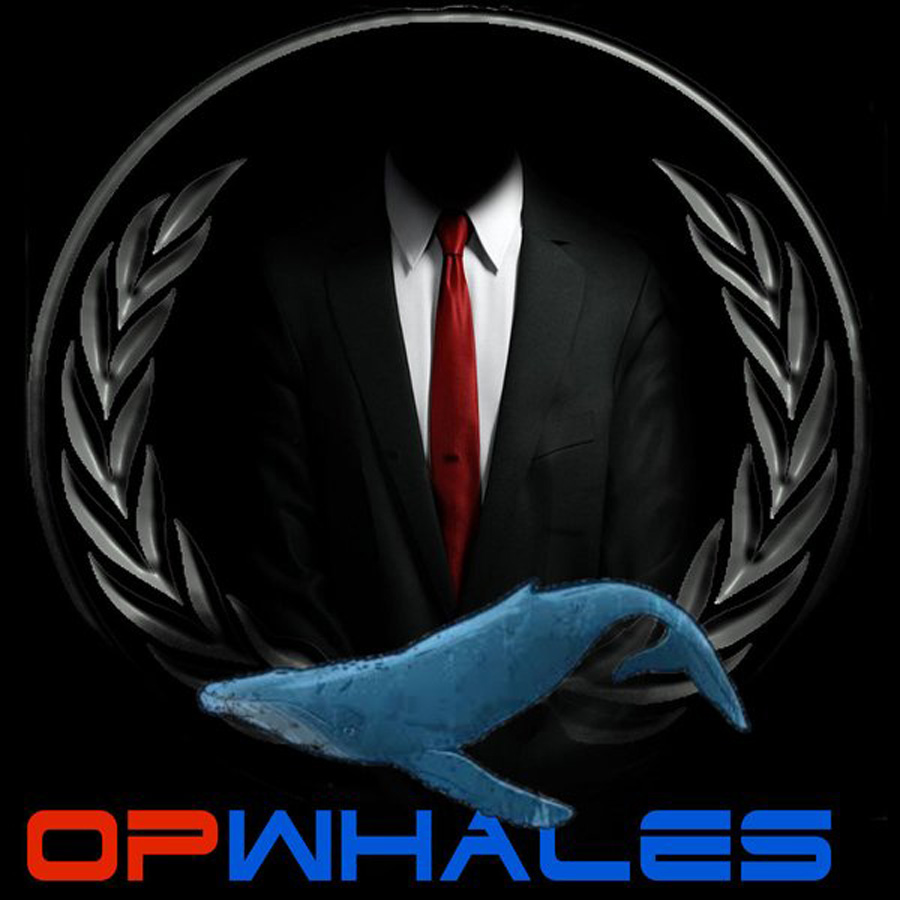 Anonymous #OpWhales campaign