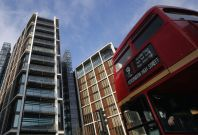 Central London property house prices