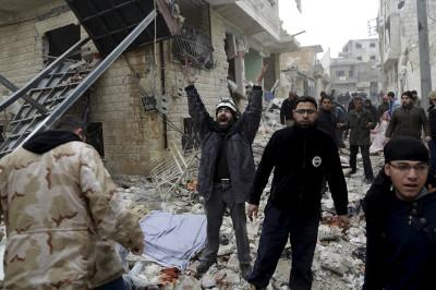 Syria Russian air strikes