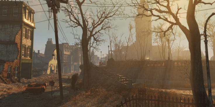 Fallout 4 setting open world boston