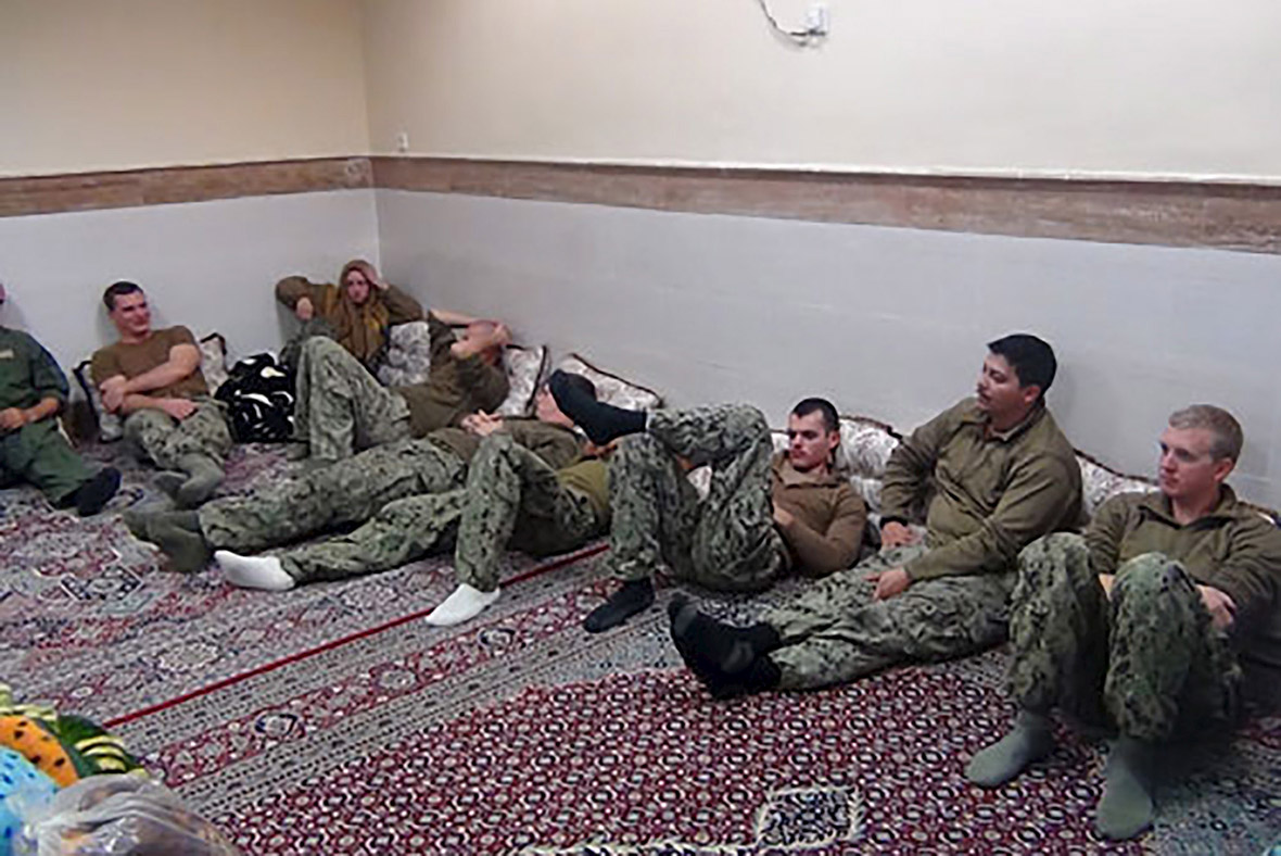 US soldiers caprtured in Iran