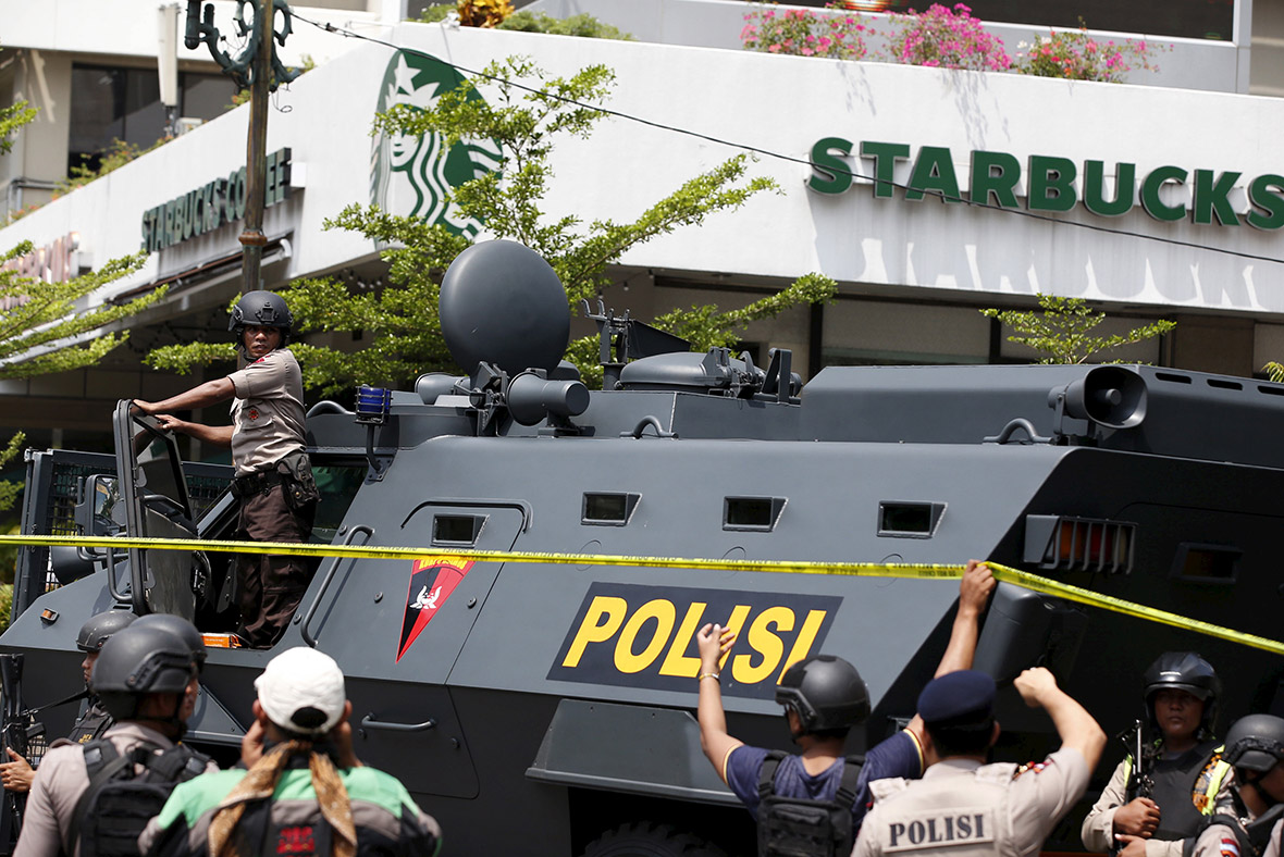 Jakarta suicide bomb