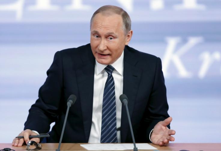 Vladimir Putin Ebola vaccine