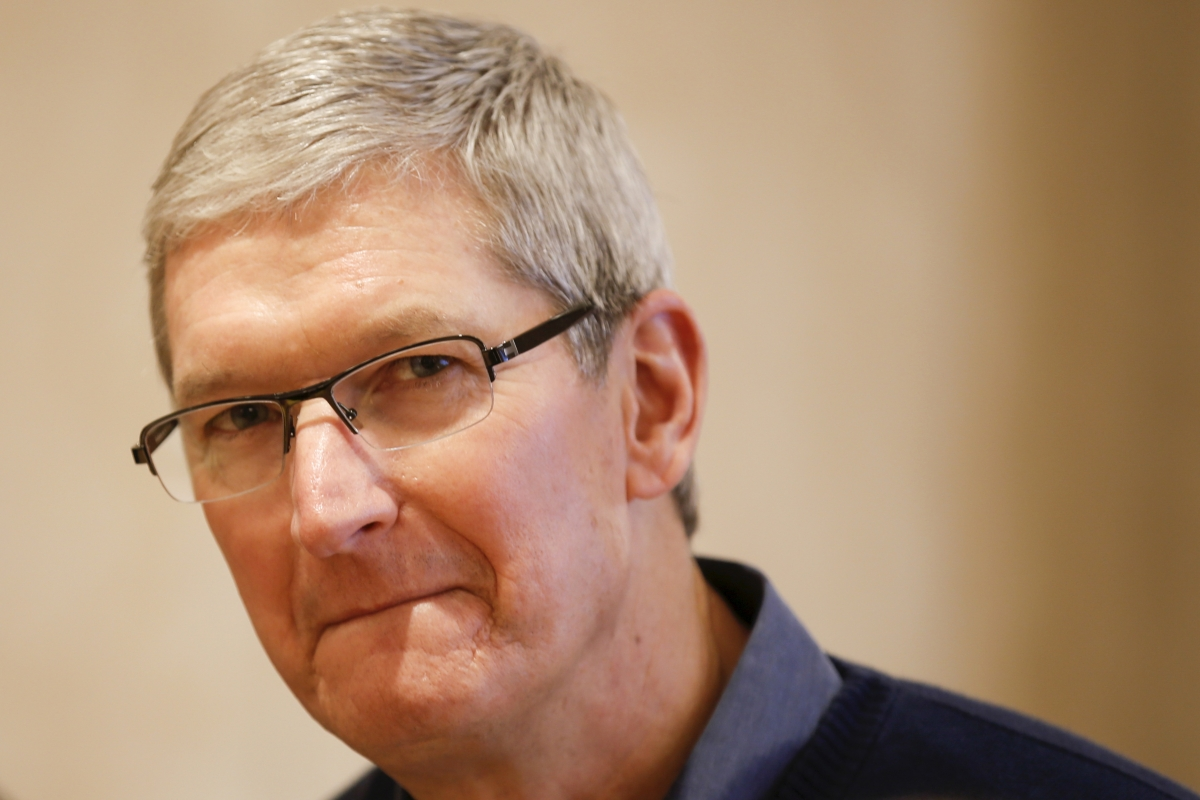 Apple boss Tim Cook at loggerheads with US government over encryption backdoors