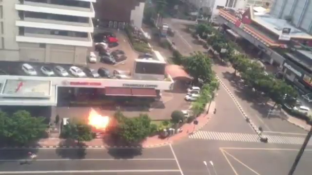 Jakarta blast starbucks
