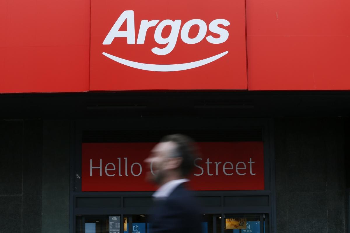 Home Retail Sainsbury S Takeover Target Argos Suffers
