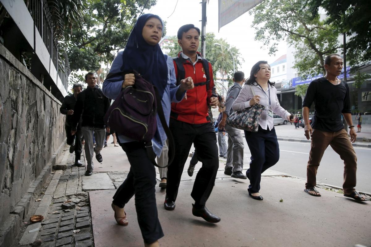 Jakarta bombigns