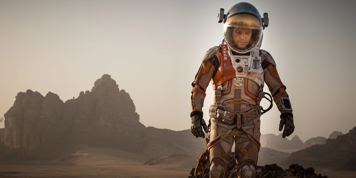 Matt Damon in Martian