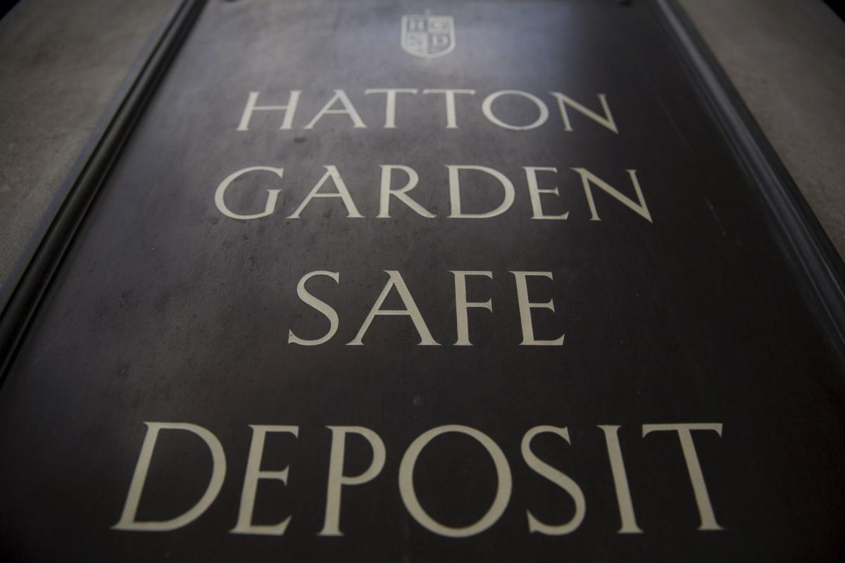 Hatton Garden sign