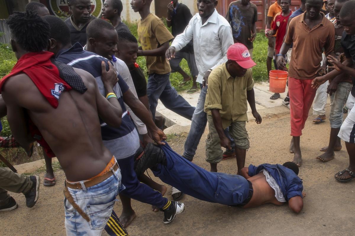 Burundi violence and police