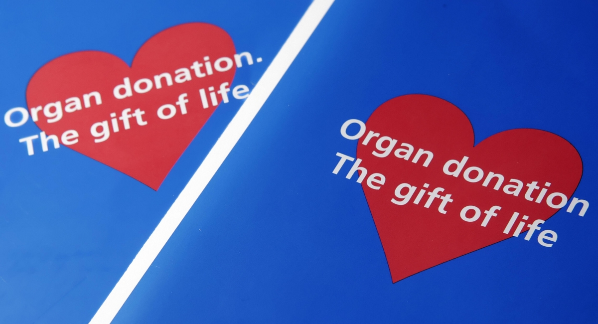 There are currently 6,388 patients waiting for a transplant Getty