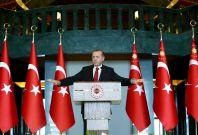 Recep Tayyip Erdogan Turkey academics arrested