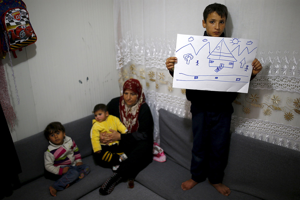 Syrian children dream of home