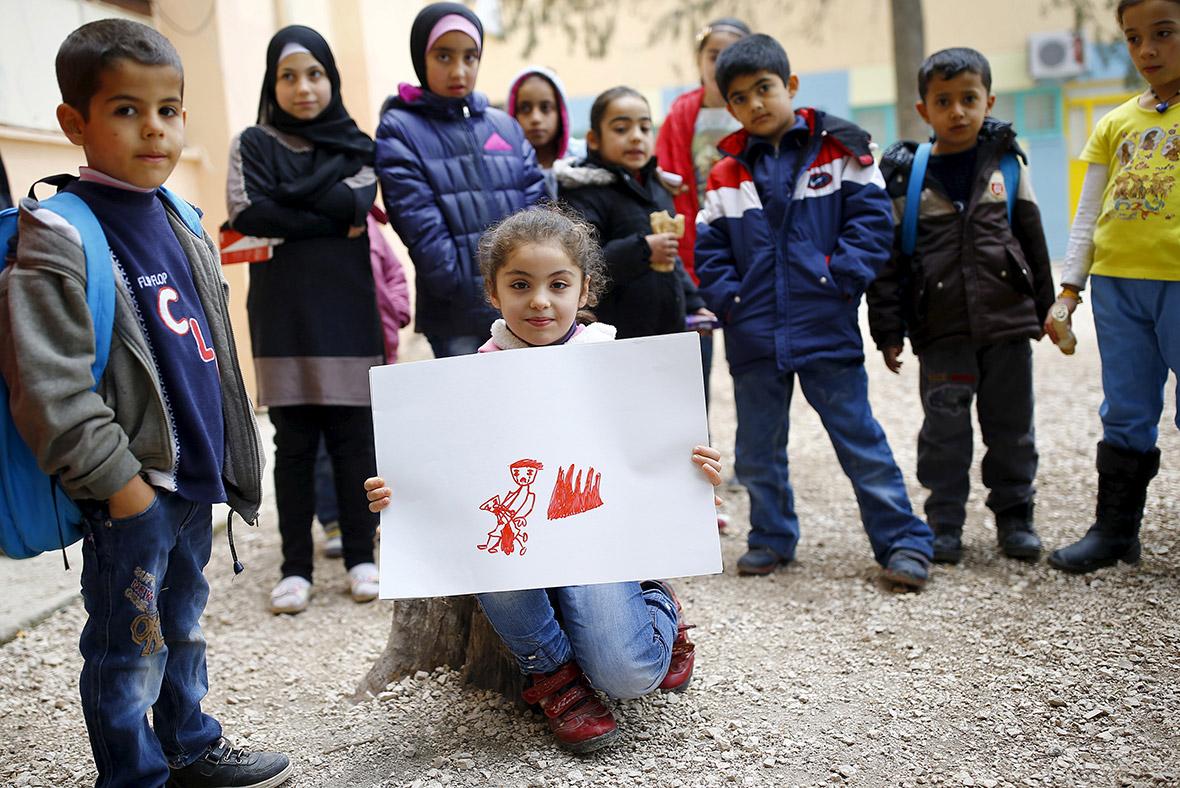 Syrian children dream of home