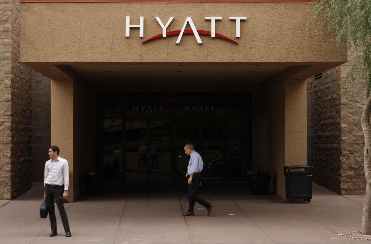 Hyatt hotels hack