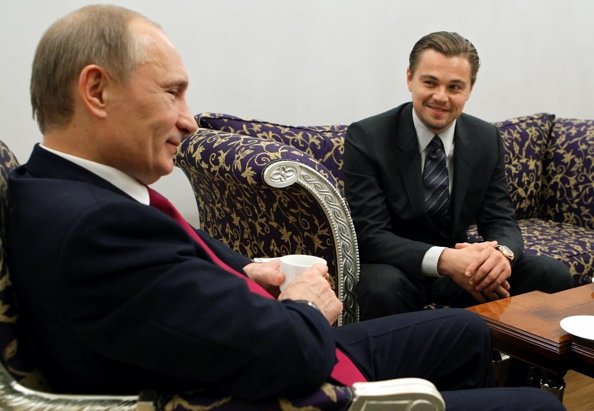 DiCaprio met Putin in 2010 in StPetersburg