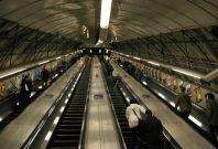 Holborn London Underground escalators