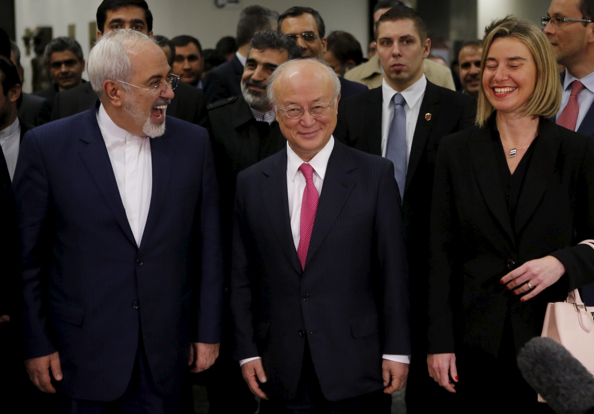 Iran sanctions lifted