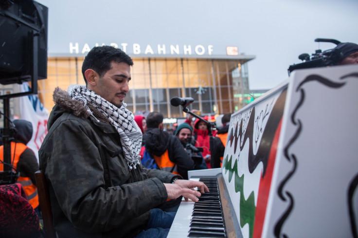 Syrian pianist Aeham Ahmad