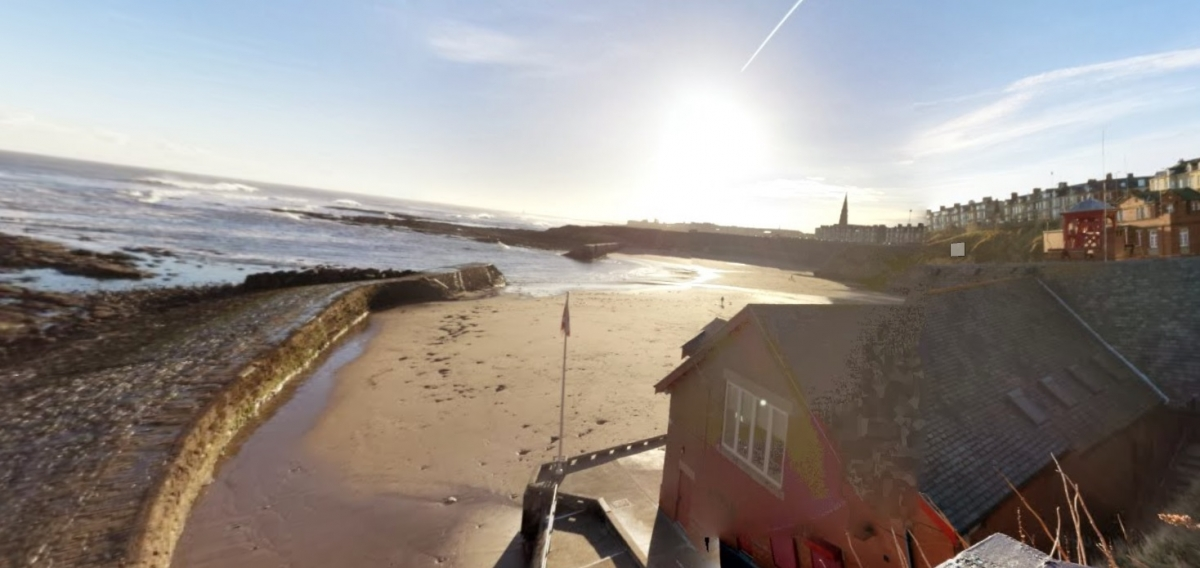 Cullercoats Bay, North Tyneside